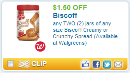 biscoff spread Oh YUM! My Review on the Biscoff Creamy Spread! Plus Walgreens Deal!