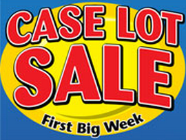 case lot sale Ridley's Family Market Weekly Deals: October 2 8 (CASE LOT SALE!!! Plus FREE IttiBitz Ice Cream!)