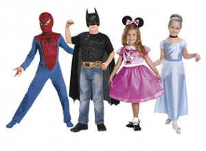 childrens costumes 300x220 2 for $19 Childrens Costumes!
