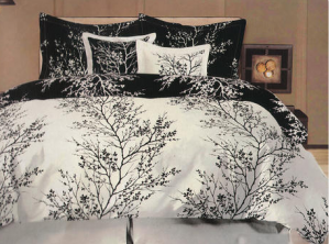 comforter set 300x222 6 Piece Comforter Set, Queen or King: $54.99 ($150 List Price)
