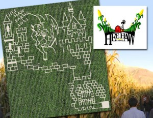 corn maze 300x232 Hee Haw Farms Corn Maze Deals (Pleasant Grove)