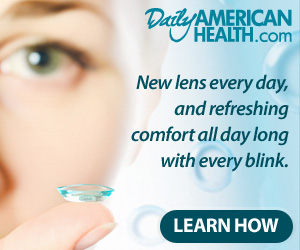 dailies300 Free!  Pair of Contact Lenses.