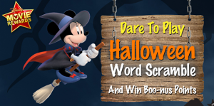 disney reward points halloween scramble 300x149 FREE 25 Points to Disney Movie Rewards!