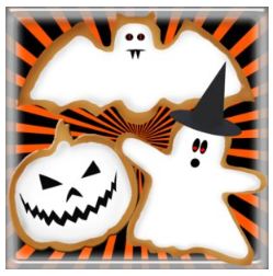 free halloween app FREEBIE: Spookie Cookie App (game)