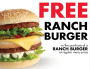free ranch burger 90x69 BOGO FREE Ranch Burger at Arctic Circle!