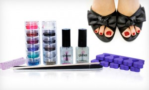 glitties 300x182 Glitties Nail Art Kit: $39 Shipped for a 1 Year Supply! (Regularly $91.50)