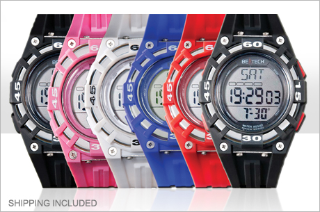 heart rate monitor watch Heart Rate Monitor Watch in 6 Color Options: Only $16 Shipped!