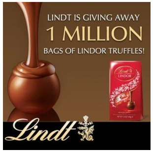 lindt Printable Coupon = FREE bag of Lindt chocolate!