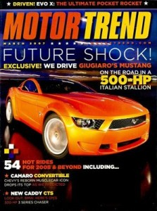 motor trend 223x300 ***TODAY ONLY*** Motor Trend Magazine: $3.99/year, up to 4 years!
