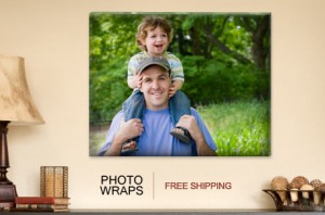 photowraps 300x198 From $29: 16 x 20 Gallery Wrapped Canvases with FREE Shipping!