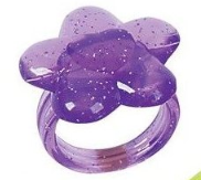plastic glitter ring Glitter Rings (Hand out for Halloween!) 144 for $5.20