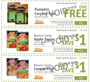 ridleys weekly ecoupons oct 16 300x273 Ridley's Family Market Weekly Deals: October 16 22 (FREE Pumpkin Carving Tool, FREE Advil!)