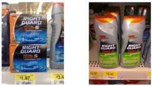 right guard at walmart 300x171 Right Guard $4 off coupon!