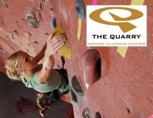 rock climbing 300x232 Two 1 Day Climbing Passes to The Quarry for $13 (Provo)