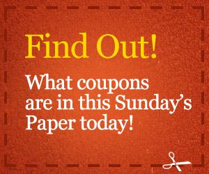 sunday coupon preview Sunday Coupon Preview for October 28