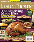 taste of home1 **Todays Hot Magazine Deals** Redbook $4.99/year, Readers Digest $3.99/year, Taste of Home $4.50/year, Budget Travel $3.83/year, Family Fun $3.99/year