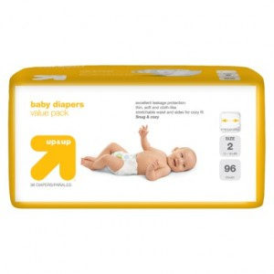 up and up diapesr 300x300 ***SUPER HOT*** Target Up&Up Diapers: as low as $0.09/diaper! *EXPIRED*