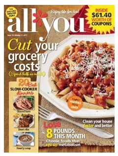 All You All You Magazine   6 issues for $10 + free gift