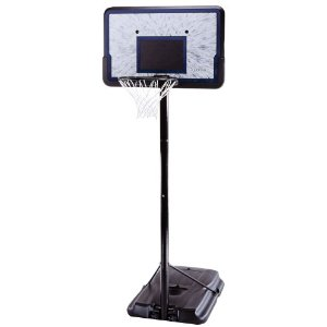 Basketball Hoop Deal Lifetime Pro Court Height Adjustable Basketball System with 44 Inch Backboard $79 Free Shipping!