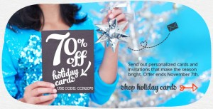 cardstore holiday sal 300x153 Cardstore: Another Hot Holiday Card Offer! 70% Off! FREE Shipping!