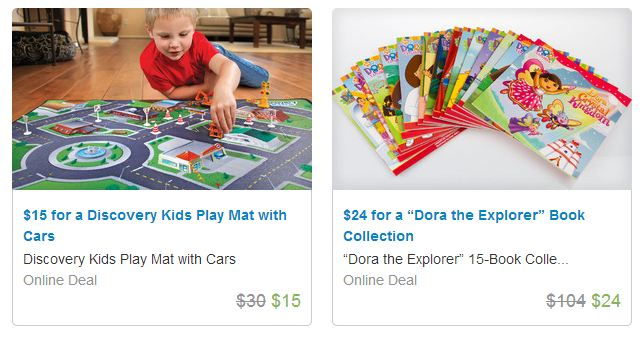 groupon gift 5 Groupon: Gifts for Everyone Including Fun Kids Gift Ideas! $69 Dollhouse, $29 MOTA Train set, $39 Kids BBQ & Kitchen Play Set, & MORE!