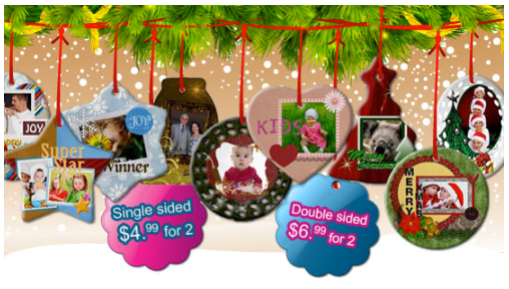 2 Personalized Ornaments $4.99 shipped (Gift ideas – grandparents ...
