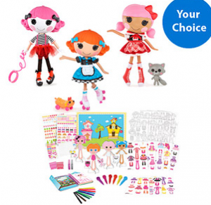 Lalloopsy paper dolls 300x292 Lalaloopsy Bundle Deal!