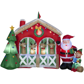 more lowes christmas clearance 50 off inflatables 30 hello kitty 55 reindeer stable 10 polar bear more utah sweet savings