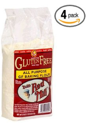 Bobs Red Mill Gluten Free Flour Bobs Red Mill Gluten Free Flour   4pk $5.50 shipped ($1.37/bag) $2.84/bag LESS than Walmart!