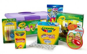 crayola 70 piece set