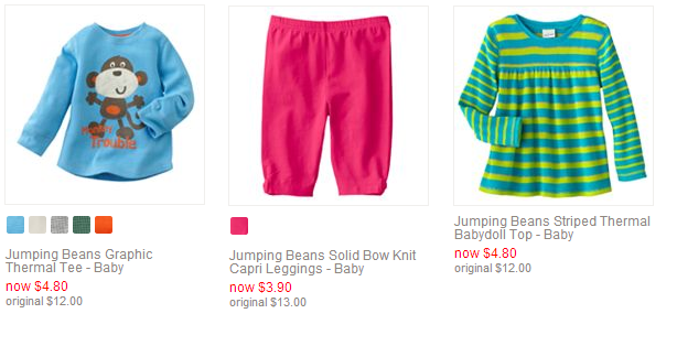 Kohl's Baby & Toddler Clearance Sale Save Up to