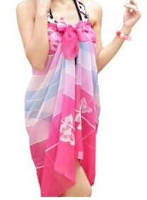 swimsuit wrap 2 Chiffon swimsuit wrap   $4.35 shipped!