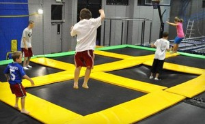 trampoline park 300x182 Get Air Sports (Indoor Trampoline Park in ROY)   Save 50%=Only $5/person!