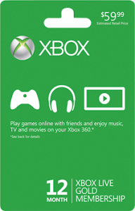 ... that a xbox live membership is a must have if you have an xbox a gold
