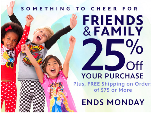 Disney family & friends sale