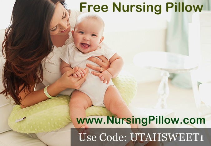 Go to peers.ml and get a FREE Nursing Pillow ($40 value) by checking out with promo code FREE4MOM. This code will deduct $40 and you will just need to pay for shipping which is .