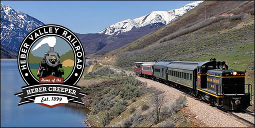 Heber Valley Railroad Heber Valley Railroad Adventure for 2   50% off ($25 for 2 tickets!)