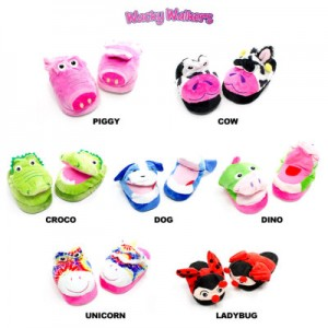 Kids Wacky Walkers Animated Slippers