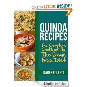 Quinoa Recipies Free ebook Free eBook:  Cookbook For The Grain Free Diet