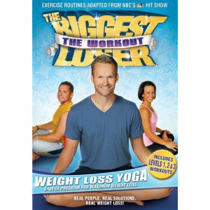 The biggest loser Yoga video The Biggest Loser Yoga DVD $7.06 Shipped!