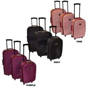 bluepack 3-piece neste4d luggage sets
