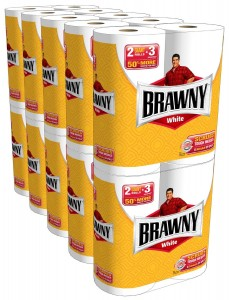 brawny giant rolls amazon deal 230x300 Brawny Giant Rolls: 20 pack for $23.68 (= to 79¢/single roll)