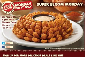 free bloomin onion 300x201 FREE Bloomin Onion at Outback Steakhouse! Today Only!