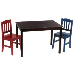 guidecraft kids table and chairs