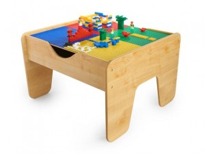 kidkraft 2 in 1 activity table 300x225 KidKraft 2 in 1 Activity Table for Trains & Legos: $69.99 (Regularly $119.99) *Includes 200 LEGO compatible blocks and a 30 piece train set