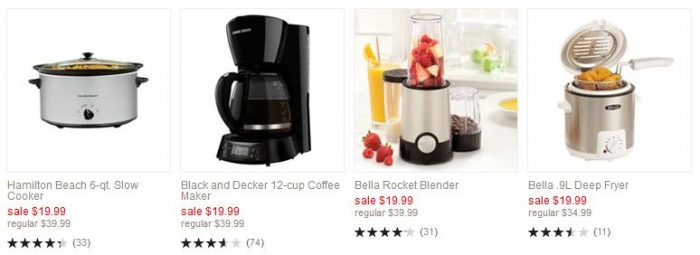 kohl's one day sale kitchen appliance