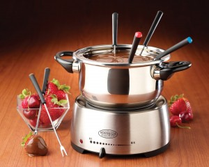 nostalgia electric fondue 300x240 Nostalgia Electric Fondue Set: $29.99 Shipped (Regularly $39.99)! Works With Cheese or Chocolate!