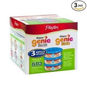 playtex diaper genie refills 300x300 Playtex Diaper Genie Refill (810 count): $15.19! Less than 2¢ each!