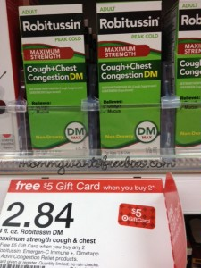 robitussin target money maker